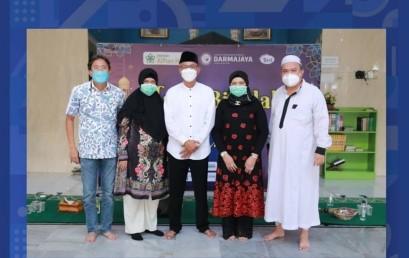 Halalbihalal, Yayasan Alfian Husin-IIB Darmajaya Kumpulkan Donasi untuk Palestina