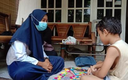 Door to door Hingga Branding Sekolah, Intip Aktivitas Mahasiswi Prodi Manajemen Darmajaya dalam Kampus Mengajar 1 Tahun 2021