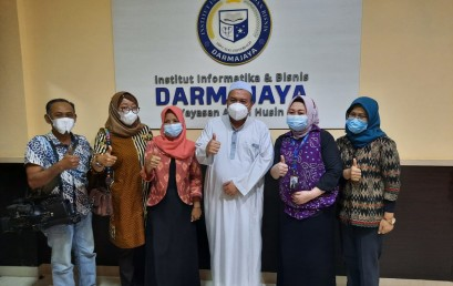Sharing Pelaksanaan Festival Film, TVRI Stasiun Lampung Kunjungan ke IIB Darmajaya