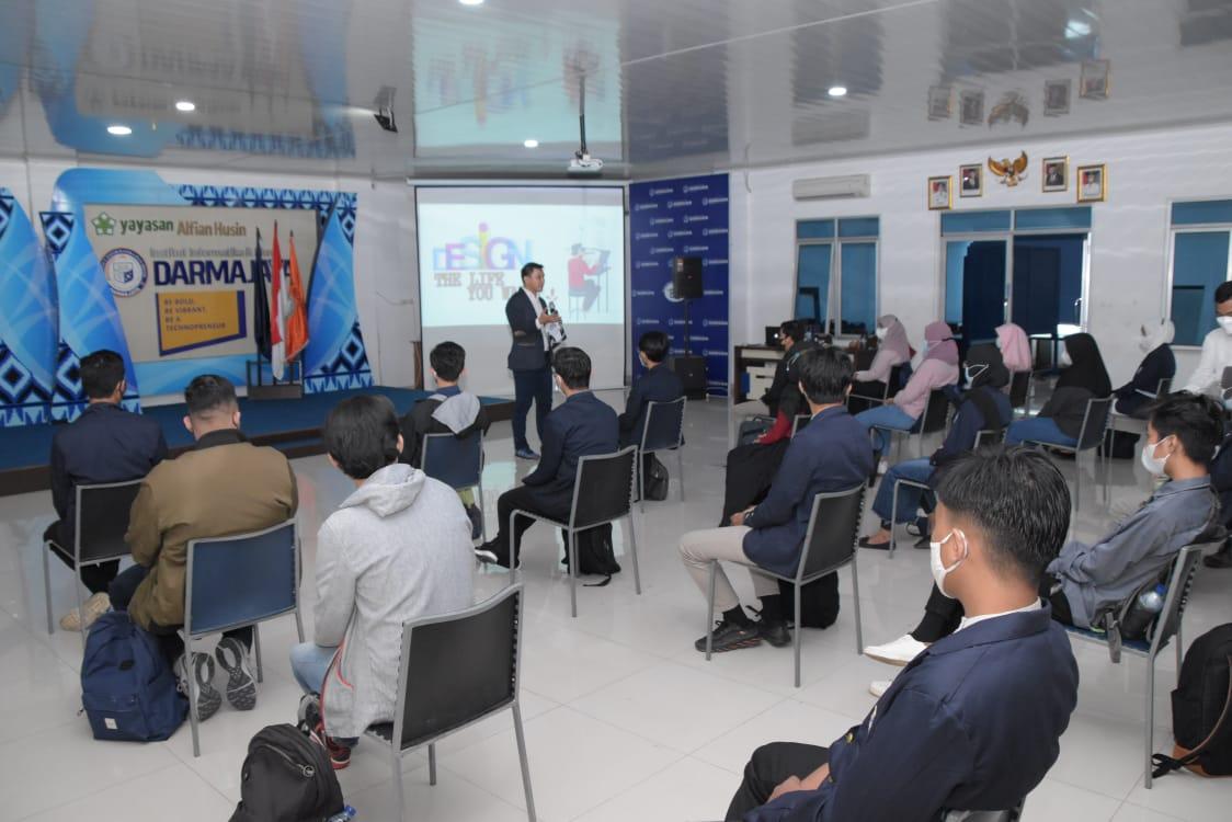 Bentuk Karakter dan Kepribadian, Prodi TI Darmajaya Gelar Bootcamp Leadership