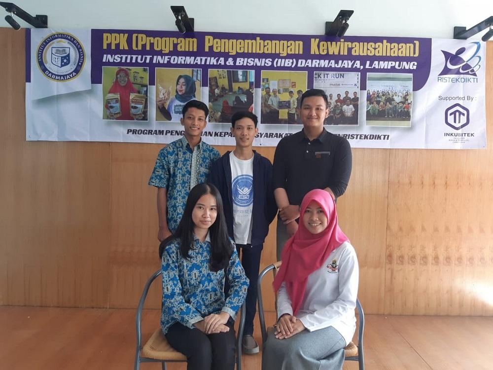 Ini Lima Mahasiswa IIB Darmajaya yang Lolos Seleksi Program Pengembangan Kewirausahaan