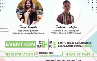English Seminar Darmajaya Bakal Hadirkan Tasya Kamila, Yuk Daftar !