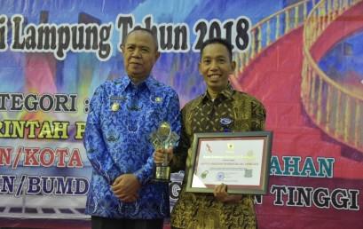 IIB Darmajaya Raih Anugerah KI Lampung 2018 Kategori PTN/PTS