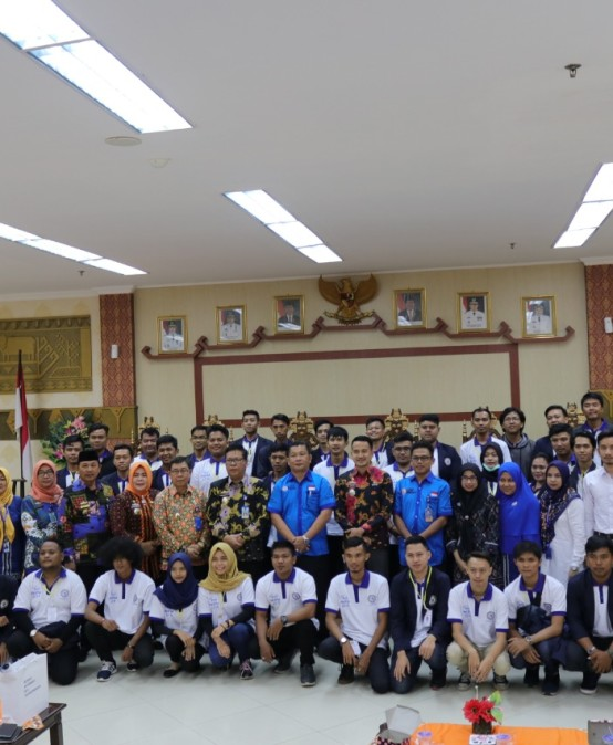 Pemkab Pesawaran Sambut Mahasiswa/i PKPM IIB Darmajaya