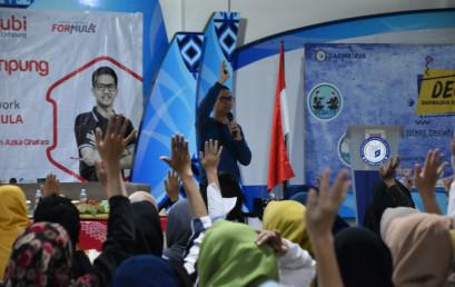 IIB Darmajaya-Yubi Lampung Kenalkan Framework Bisnis Pemula