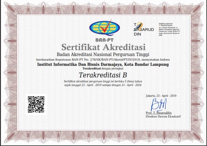 Raih Akreditasi B, IIB Darmajaya Tingkatkan Fasilitas Pembelajaran
