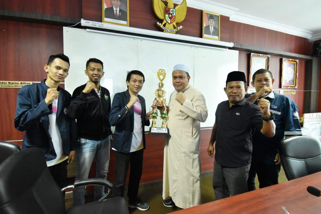 Tim Futsal IIB Darmajaya Targetkan Juara dalam Pomnas