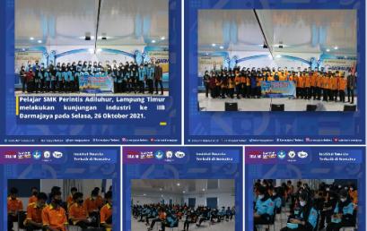 SMK Perintis Adiluhur Lampung Timur Menimba Ilmu di IIB Darmajaya
