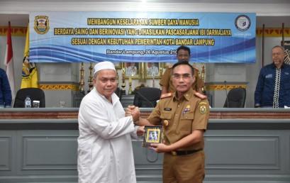 IBI Darmajaya – Pemkot Bandar Lampung Gelar Workshop Kurikulum Magister Teknik Informatika