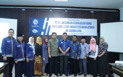 Pascasarjana Manajemen IBI Darmajaya Ajak Stakeholder dalam Pengembangan Kurikulum Baru