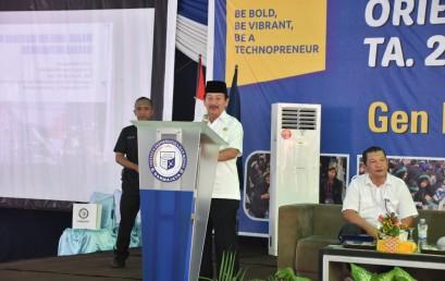 Herman HN Ajak Mahasiswa IIB Darmajaya Saring Informasi dan Bantu Pembangunan Daerah