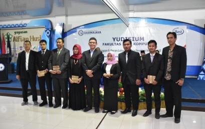 Sebanyak 225 Mahasiswa  Filkom IIB Darmajaya Jalani Yudisium Hadapi Era 4.0