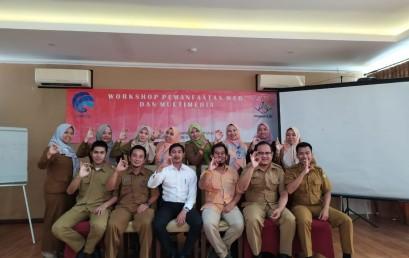 Dosen IIB Darmajaya Isi Workshop Pemanfaatan Web dan Multimedia Diskominfo Kota Bandar Lampung