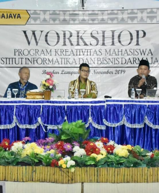 Tingkatkan Kreativitas dan Inovasi, IIB Darmajaya Gelar Workshop PKM