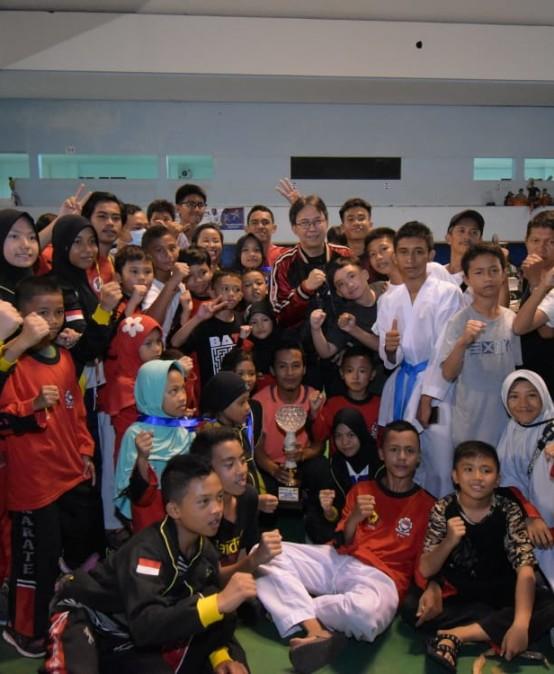 Diikuti Ribuan Peserta, Darmajaya Open Tournament & Festival Karate 2019 Sukses