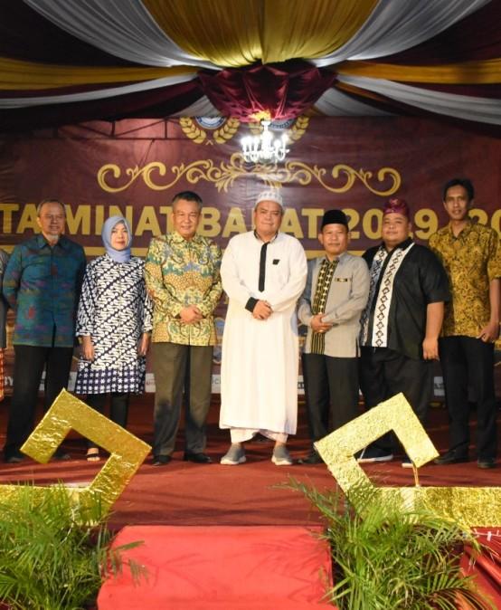 """Pemprov Lampung Apresiasi Kegiatan Minat Bakat IIB Darmajaya """"Defrizky – Nanda Putera Puteri Kampus 2020"""""""