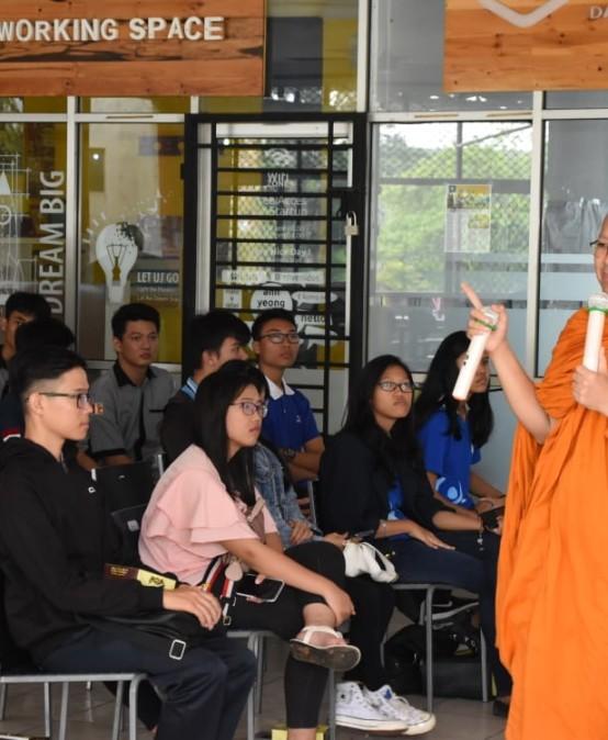 UKM Budha Darmajaya Ajak Mahasiswa Membangun Jiwa Kepemimpinan & Nasionalis