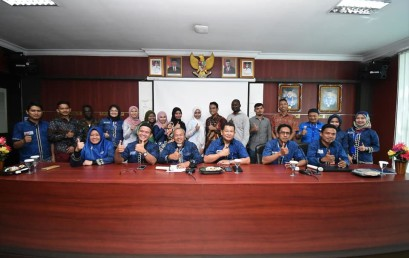 Welcoming and Farewell Ceremony, Mahasiswa Asing Sampaikan Terima Kasih IIB Darmajaya