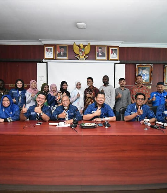 Welcoming and Farewell Ceremony, Mahasiswa Asing Sampaikan Terima Kasih IIB Darmajaya