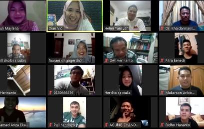 IMA Lampung Isi Kuliah Online Perdana Mahasiswa Baru Pascasarjana IIB Darmajaya