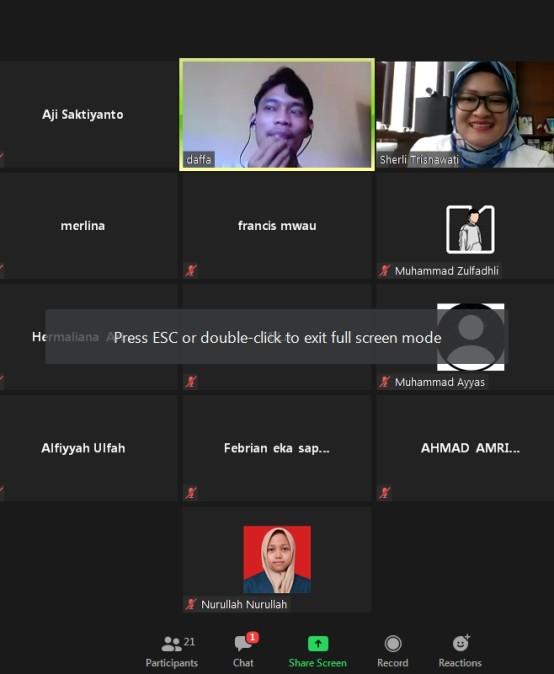 Francis Ajak Milenial Lampung Kuliah di Luar Negeri dengan Daftar di Darmajaya