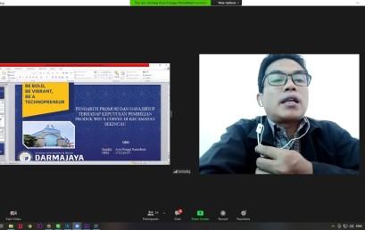 Gelar Seminar Karya Ilmiah, Prodi Manajemen Latih Mahasiswa Meneliti