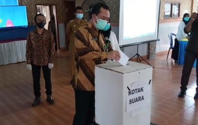 Kolaborasi Pemkab Pringsewu-IIB Darmajaya Ciptakan E-Voting Pilkades