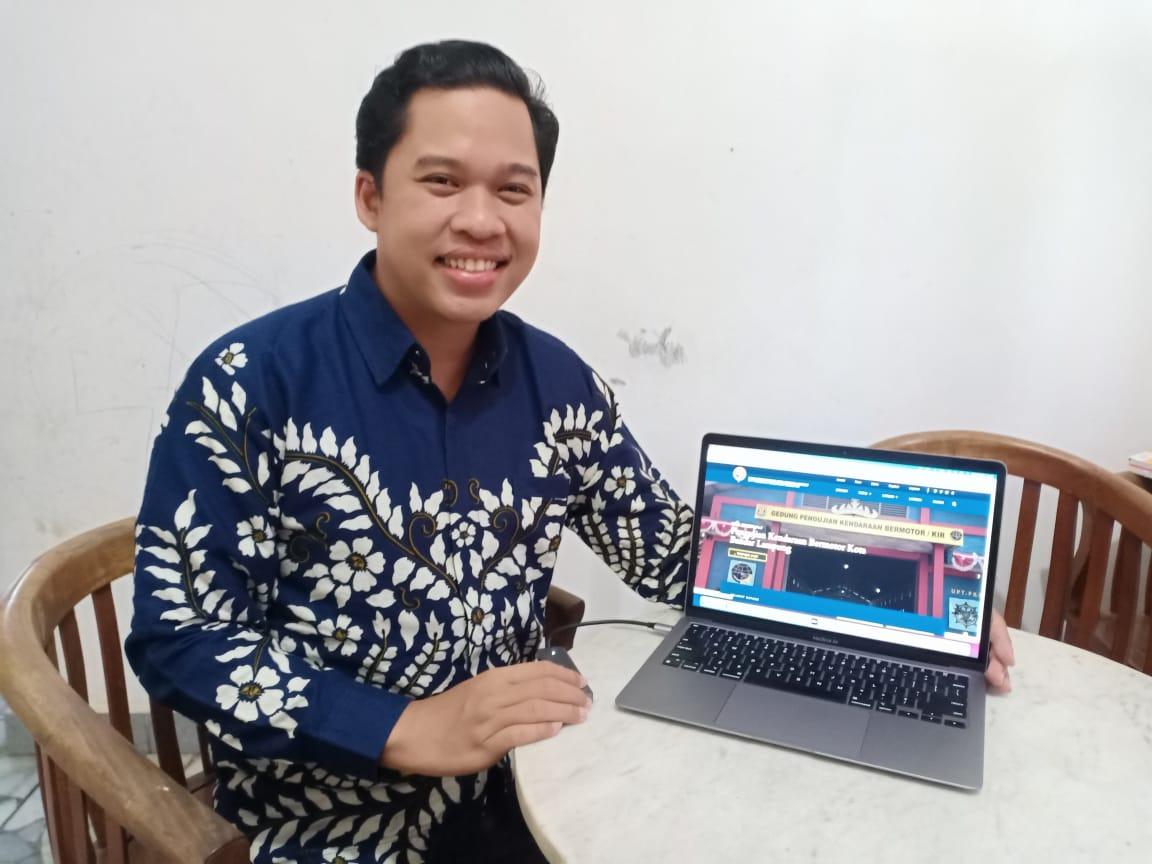 Laman KIR Bandar Lampung Hasil Karya Dosen Sistem Informasi Darmajaya