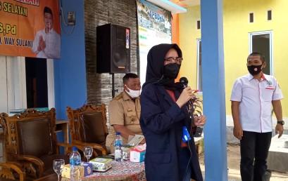 Kolaborasi dengan Anggota DPRD Lampung Selatan, Mahasiswi Darmajaya Ini Lakukan Penyuluhan Cegah Covid-19