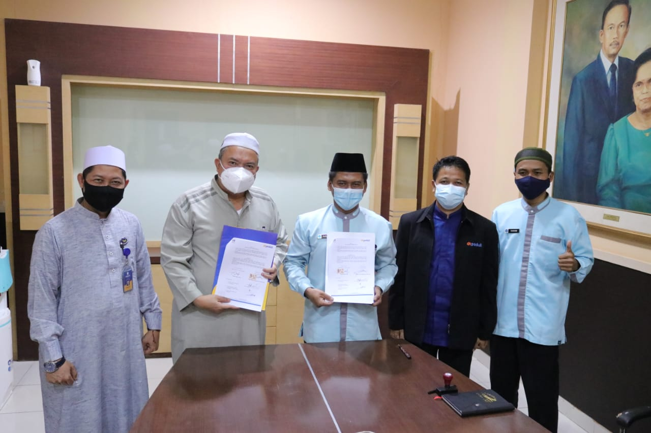 IIB Darmajaya–DT Peduli Lampung Kerjasama Pengelolaan ZIS Karyawan dan Dosen