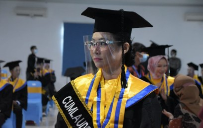 Tidak Menyangka menjadi Lulusan Terbaik IIB Darmajaya Periode Juni 2021, Ini Kisahnya