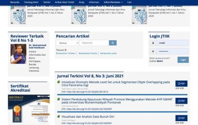 Dosen PTS Terbaik di Sumbagsel Jadi Reviewer Terbaik Jurnal Teknologi Informasi dan Ilmu Komputer UB Malang