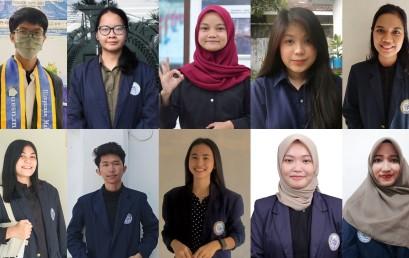 Sepuluh Mahasiswa PTS Terbaik se-Sumbagsel ini Terima Bantuan Dana Program Transfer Kredit Internasional 2021