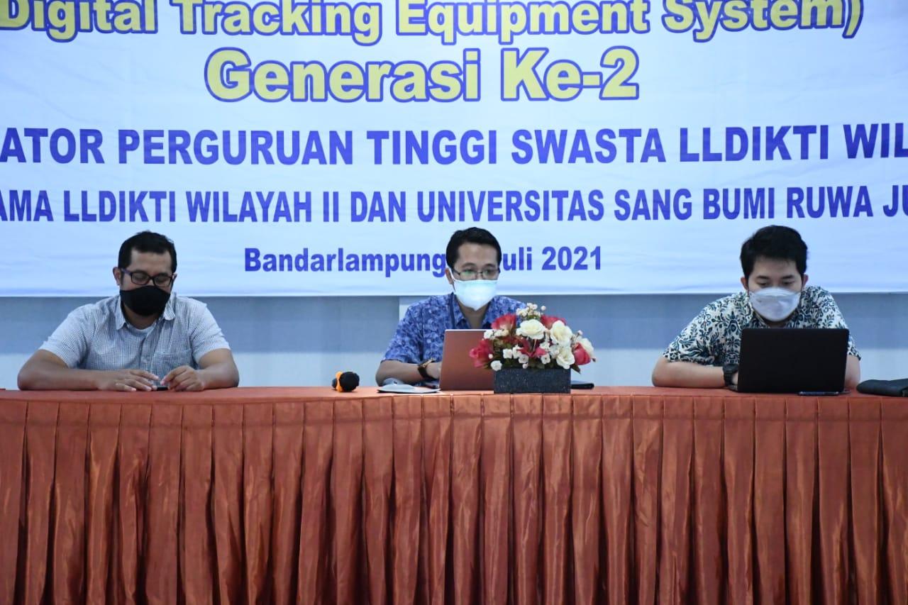 Dosen dan Staf IT PTS Terbaik se-Sumbagsel ini Kembangkan Aplikasi DiTES  LLDIKTI Wilayah II Palembang.