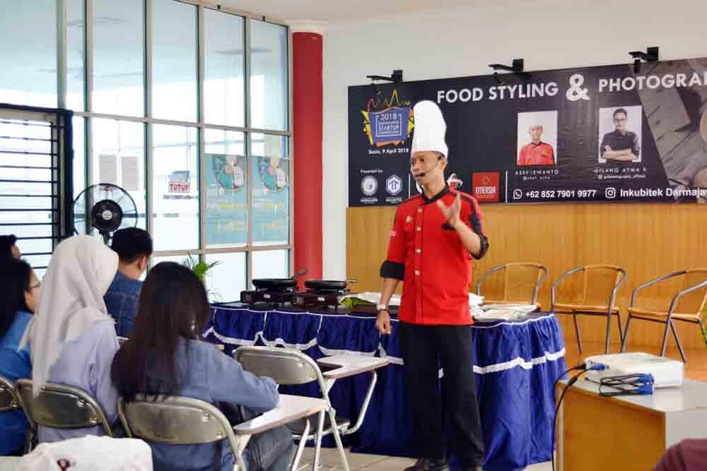 DSC 2018, Mahasiswa Darmajaya Geluti Food Startup dan Digital Startup