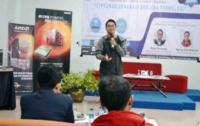 Hima TI Darmajaya Helat Seminar Inovasi Android dan Upgrade Technology