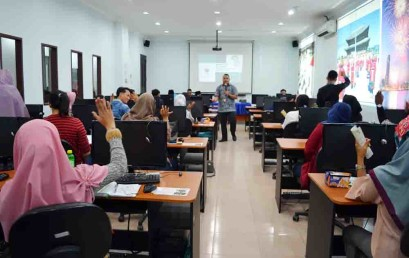 Mahasiswa Darmajaya Berlatih Jadi Investor Saham di Sekolah Pasar Modal