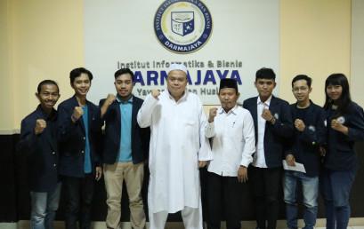Berlaga di Peksiminas, Rektor Darmajaya Minta Mahasiswa Jaga Nama Baik Lampung