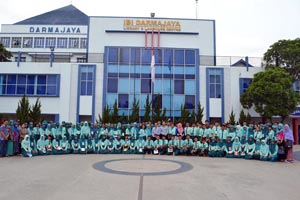 Pelajar SMA 2 Tumijajar, Kagumi Program Internasional di Darmajaya