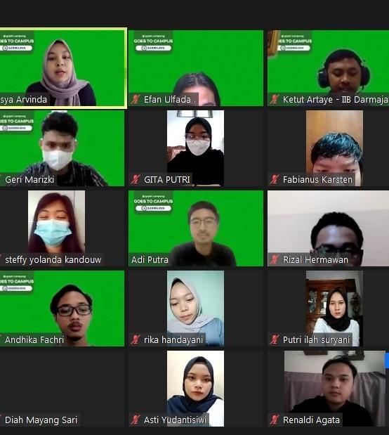 Gojek Roadshow Goes to Campus Pertama ke IIB Darmajaya