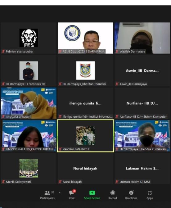 Pertukaran Mahasiswa, IIB Darmajaya Kirim 22 Mahasiswa ke Perguruan Tinggi di Pulau Jawa