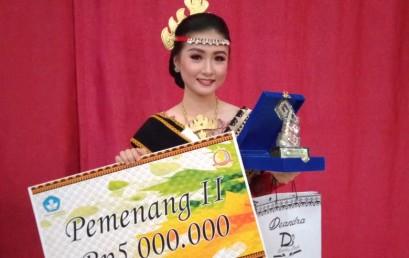 Mahasiswi Darmajaya Juara II Duta Bahasa Provinsi Lampung 2019