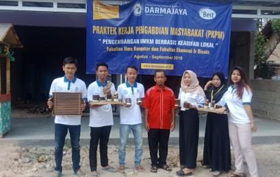 IIB Darmajaya Bantu Program Inovasi Desa menuju Lampung Selatan Bebas Sampah 2025