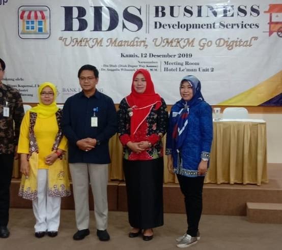 UMKM Go Digital KPP Pratama Kotabumi, Dosen IIB Darmajaya Jadi Pembicara