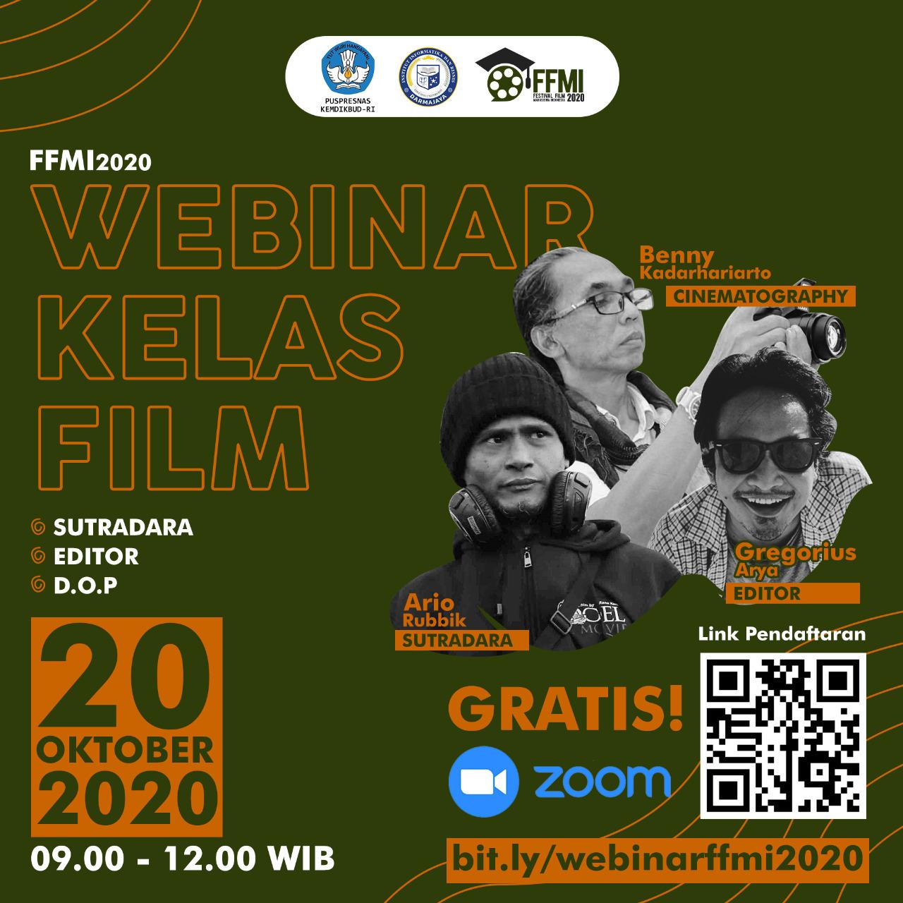 Ingin Belajar Film, Yuuk Ikuti Workshop Bersama Juri FFMI 2020