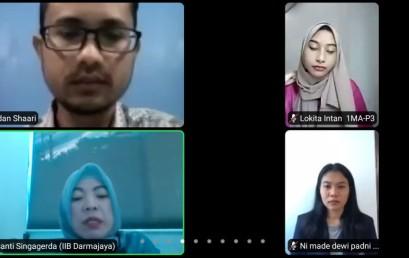 Dosen UniMAP Isi Kuliah Teori Ekonomi Mahasiswa Prodi Manajemen IIB Darmajaya