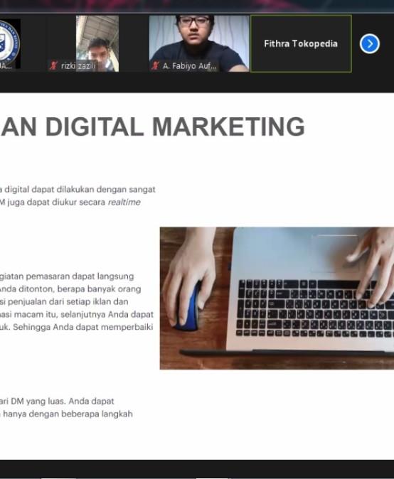 Tokopedia Ajari Mahasiswa Darmajaya Digital Marketing