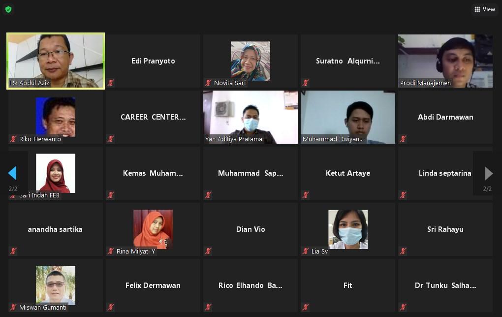International Class Institut Swasta Terbaik di Indonesia Gelar FGD Implementasi Kampus Merdeka