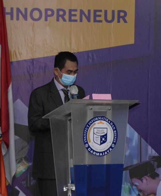LLDikti Wilayah II Apresiasi Wisuda Ke-31 IIB Darmajaya sebagai Kampus Level Internasional