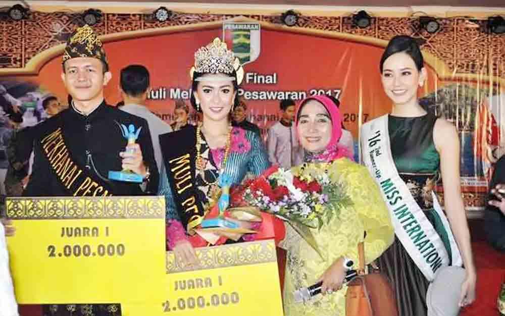 Juarai Muli Pesawaran,IndriSiap Promosikan Wisata